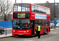 Route 330, Stagecoach London 17357, X357NNO, Canning Town