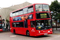 Route 238, East London ELBG 17232, X232NNO, Stratford