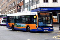 Route 102, Centrebus 709, YN06TGE, Leicester
