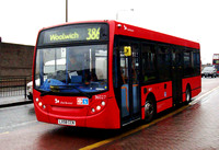 Route 386, Selkent ELBG 36027, LX58CCN, Woolwich