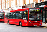 Route E9, First London, DML44109, YX09FLA, Ealing Broadway