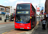 Route 287, Stagecoach London 19724, LX11AZJ, Barking