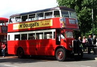 Route 32, London Transport, STL441, AXM693, Worcester Park