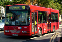 Route 108, East Thames Buses, DW11, LF52TKN, Stratford
