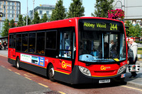 Route 244, Go Ahead London, SE77, YX60FCG, Woolwich