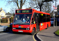Route R7, Metrobus 197, W427CWX, Bickley