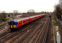 South West Trains, 455854, Wimbledon