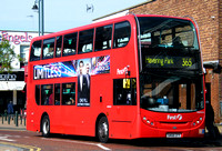 Route 365, First London, DN33552, SN58CFY, Romford