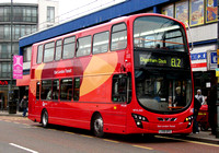 Route EL2, Go Ahead London, WVL345, LX59DFE, Barking