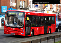 Route 152, Abellio London 8776, YX61ELH, South Wimbledon