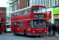 Route 263, London Northern, S5, F425GWG, Finchley