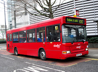 Route 100, Abellio London 8303, BX54DKE, Wapping