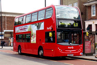 Route E3, First London, DN33592, SN09CFF, Acton Town