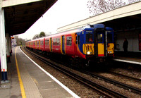 South West Trains, 455868, Worcester Park