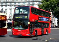 Route 414, Abellio London 9510, SN59AVX, Marble Arch