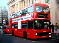Route N176, Arriva London, L550, G550VBB, Trafalgar Square