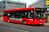 Route 245, First London, DML44041, YX58DWV