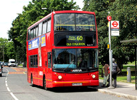 Route 60, Arriva London, DLA179, W379VGJ, Pollards Hill