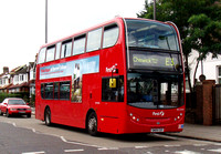 Route E3, First London, DN33581, SN09CEF, Acton Town