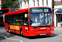 Route E9, First London, DML44188, YX11CNK, Ealing