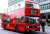 Route 87, London Transport, T438, KYV438X, Barking