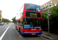 Route 603, Metroline, TP64, V764HBY, Swiss Cottage