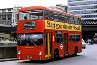 Route 70, London Transport, DMS1582, THM582M, Waterloo