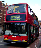 Route 77A, London General, PDL10, X701EGK, Clapham Junction