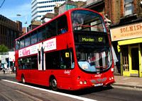Route 157, Abellio London 9067, BX55XNW, Croydon
