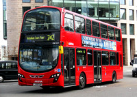 Route 242, Arriva London, DW221, LJ09SUH, Holborn Circus