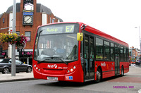 Route E7, First London, DML44117, YX09FLJ, Ealing
