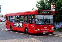 Route R68, Abellio London 8445, KM02HFU, Hampton Court