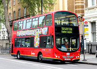 Route 77A, London General, WVL126, LX53AZV, Westminster