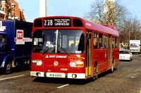 Route 278: East Beckton - Limehouse [Withdrawn]