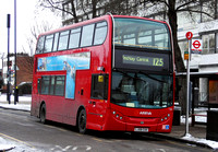 Route 125, Arriva London, T38, LJ08CUH, Winchmore Hill