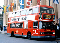 Route N72, London Central, L88, C88CHM, Trafalgar Square