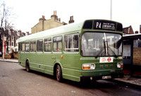 Route P4, London Transport, SNB493, BPL493T, Lewisham