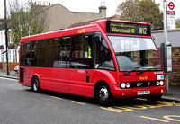Route W12, First London, OOS53702, LK05DXP, South Woodford