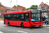 Route 72, London United RATP, DE107, SN10CCO, Hammersmith