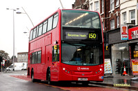 Route 150, Arriva London, T190, LJ60ATO, Gants Hill