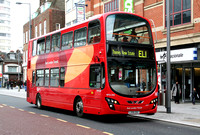 Route EL1, Go Ahead London, WVL340, LX59DDZ, Barking