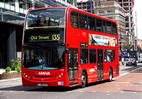 Route 135, Arriva London, T12, LJ08CVG, Aldgate