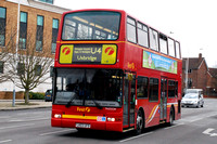 Route U4, First London, TN33328, LK03UFD, Uxbridge