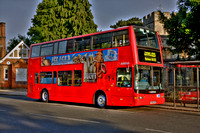 Route 125, Arriva London, DLP46, Y546UGC, Church End