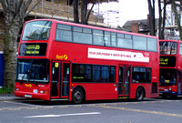 Route 215, First London TNL33001, LK51UZO, Walthamstow