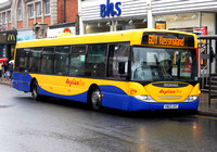 Route 601, Anglian Buses 423, YN03UVT, Great Yarmouth