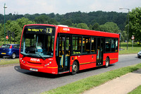 Route T31, Arriva London, ENL5, LJ07EDC, Addington Village