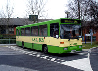 Route 156, ASD Coaches, M429RDC, Medway Hospital