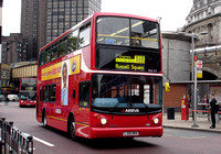 Route X68, Arriva London, VLA117, LJ05BKK, Waterloo