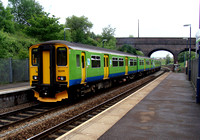 London Midland, 150216, The Hawthorns